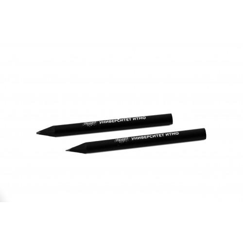 Мини-карандаш BLACK Университет ИТМО